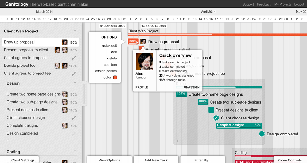 the web based gantt chart maker
